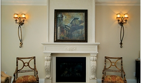 fireplace-mantel-exquisite-detail