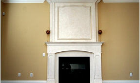 fireplace-mantel-striking-presence